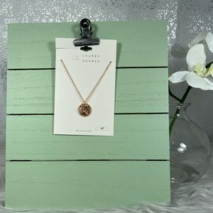 LC Lauren Conrad Gold Chain Necklace with Charm